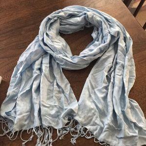 Accessories - Light Blue Scarf